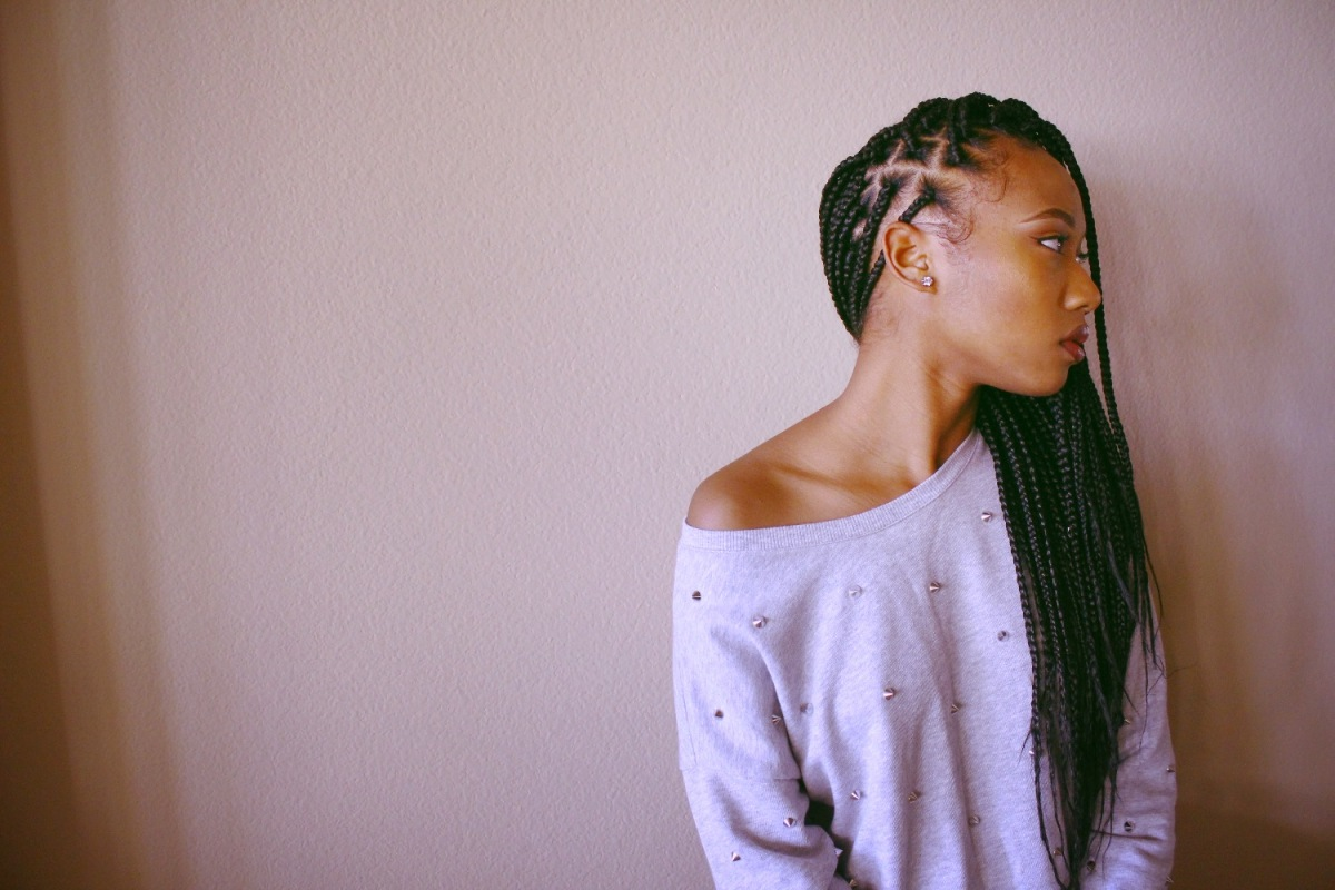 Grow Your Hair With Box Braids
